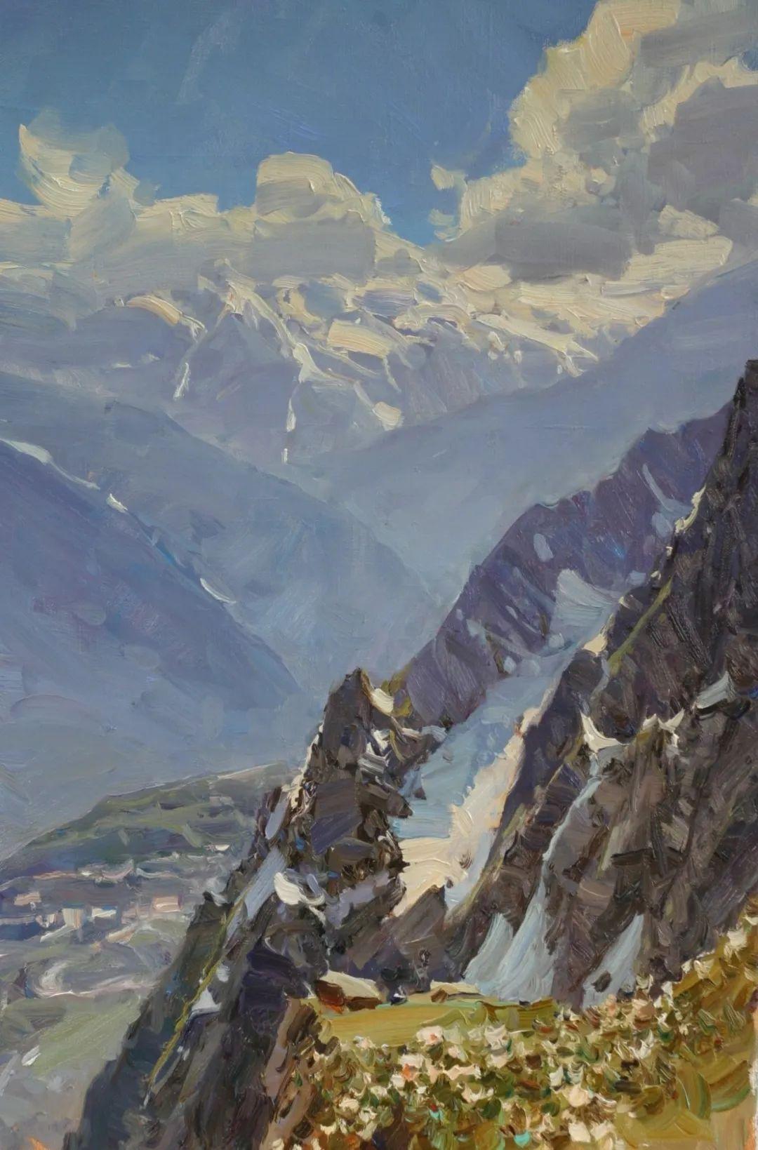 永恒的自然美,俄罗斯画家亚历山大·巴比奇插图65