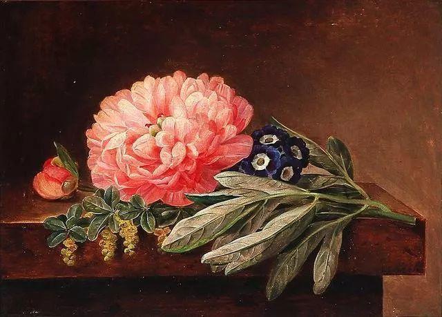 一两百年前的静物花卉作品插图59