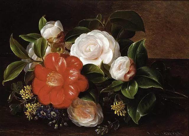 一两百年前的静物花卉作品插图61