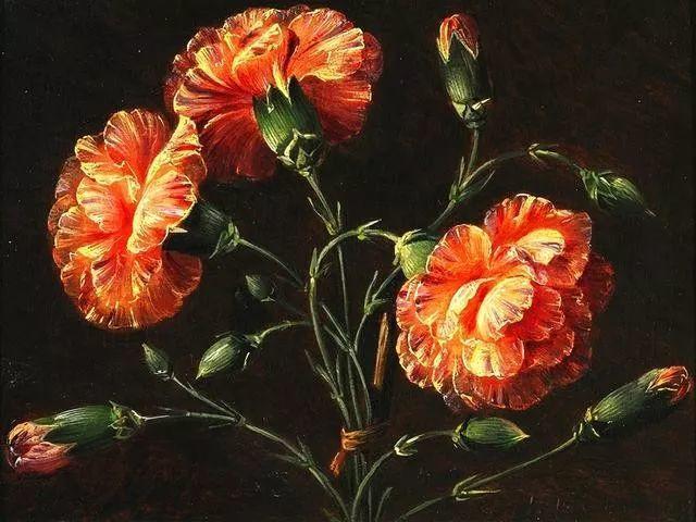 一两百年前的静物花卉作品插图77