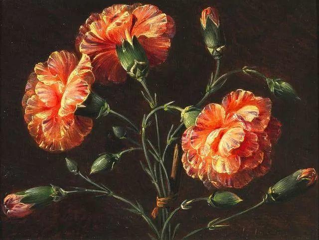 一两百年前的静物花卉作品插图141