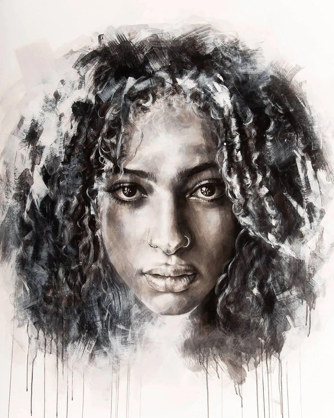 """""""灵魂绘画"""",西班牙画家阿丹·洛佩斯·阿莱曼插图3"""