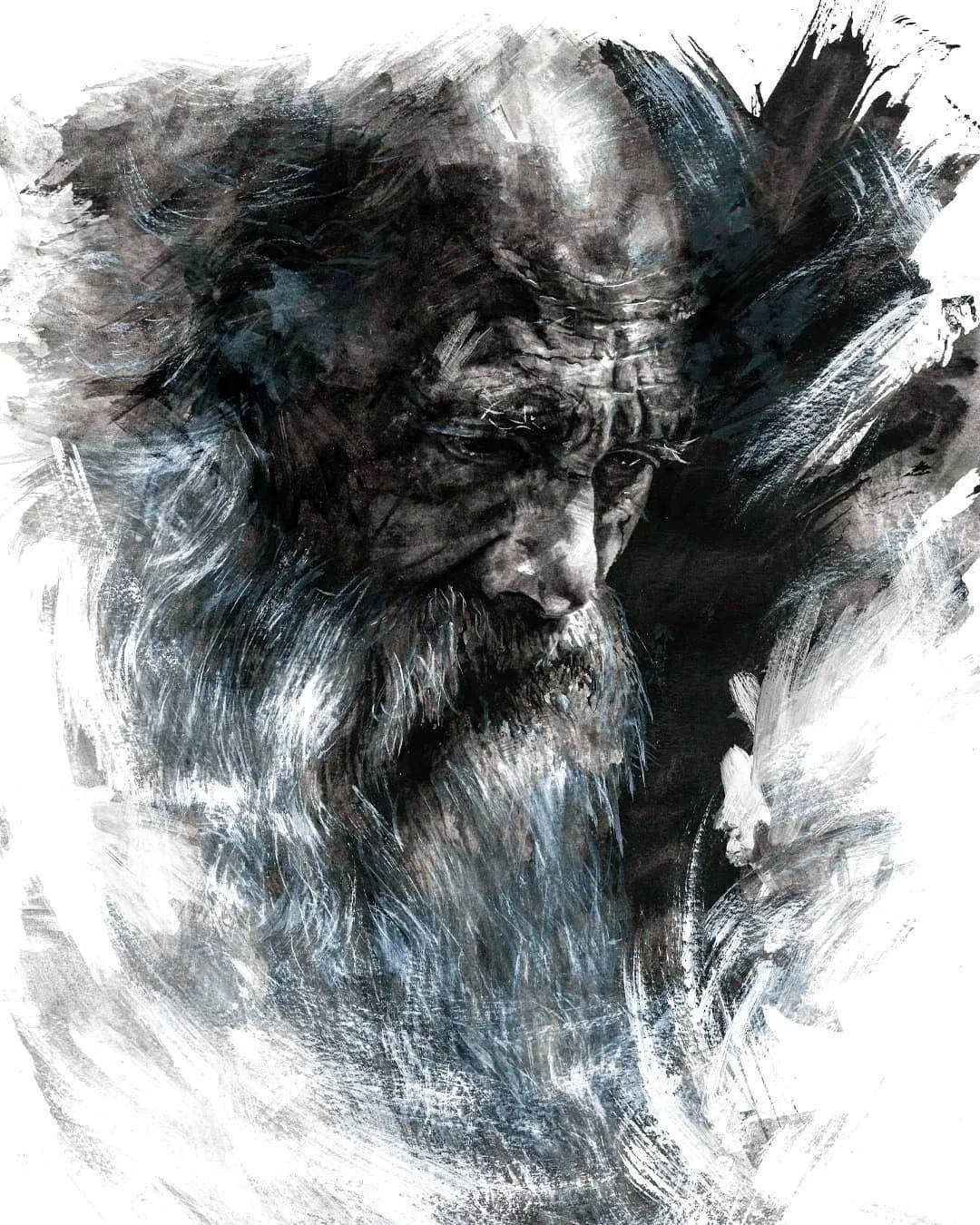 """""""灵魂绘画"""",西班牙画家阿丹·洛佩斯·阿莱曼插图15"""