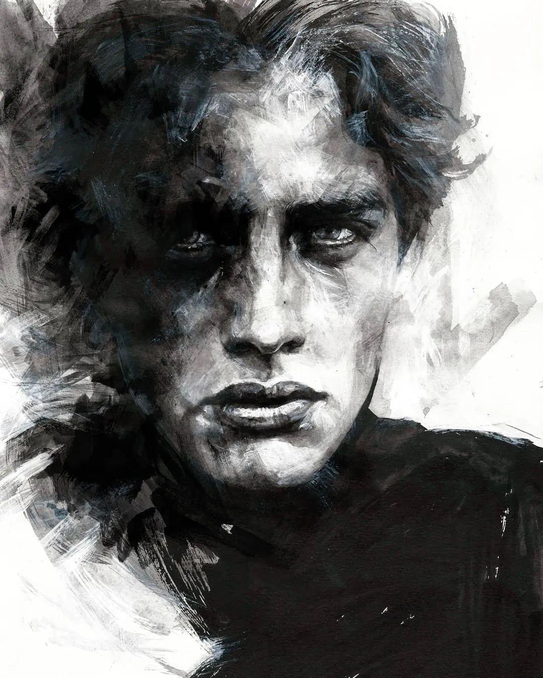 """""""灵魂绘画"""",西班牙画家阿丹·洛佩斯·阿莱曼插图17"""
