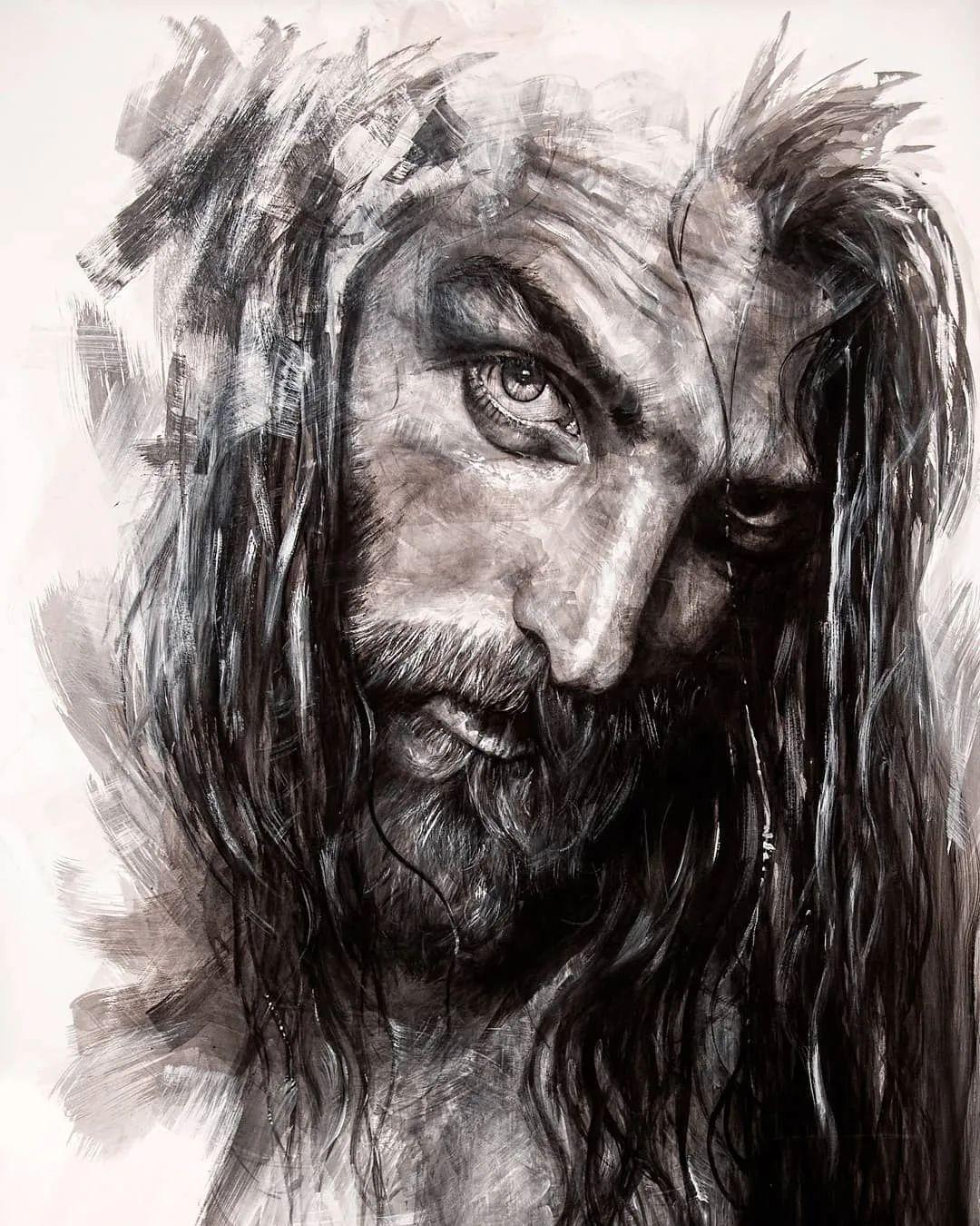 """""""灵魂绘画"""",西班牙画家阿丹·洛佩斯·阿莱曼插图19"""