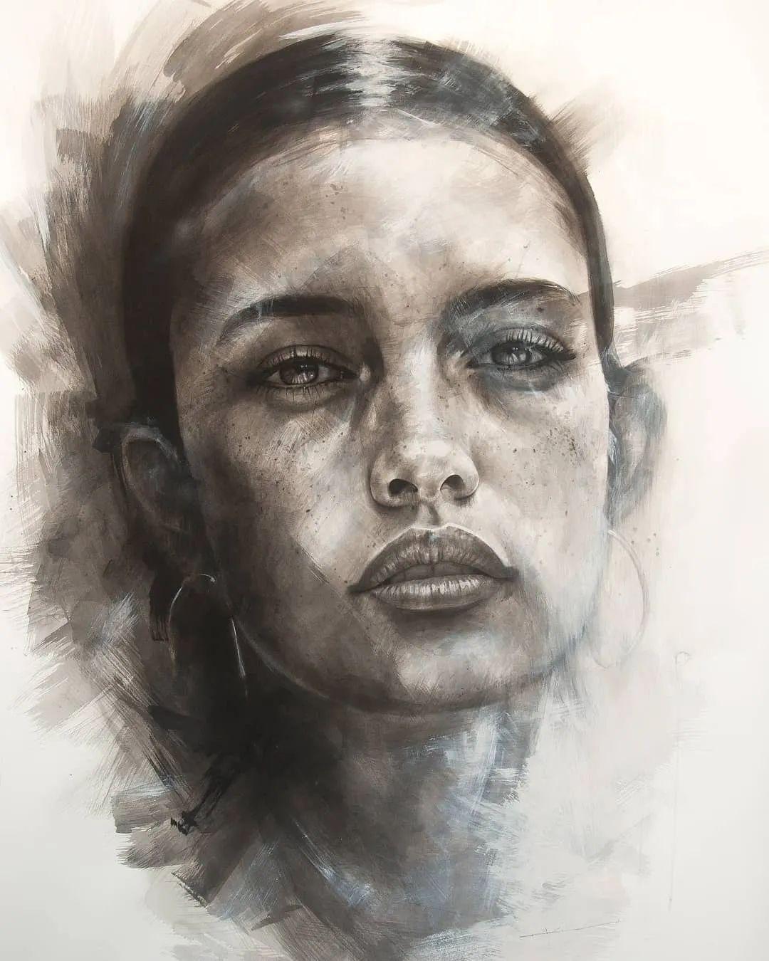 """""""灵魂绘画"""",西班牙画家阿丹·洛佩斯·阿莱曼插图21"""