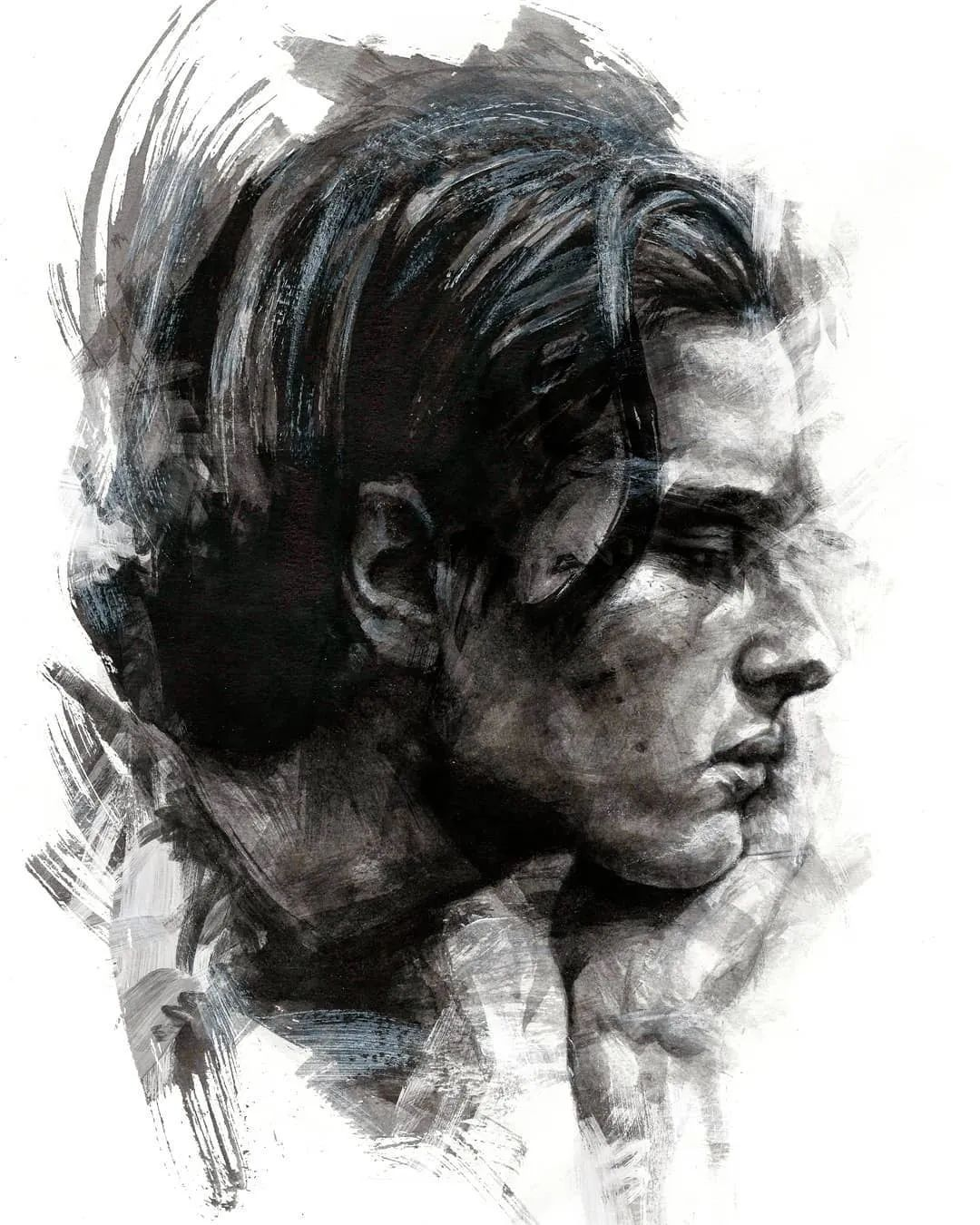"""""""灵魂绘画"""",西班牙画家阿丹·洛佩斯·阿莱曼插图25"""