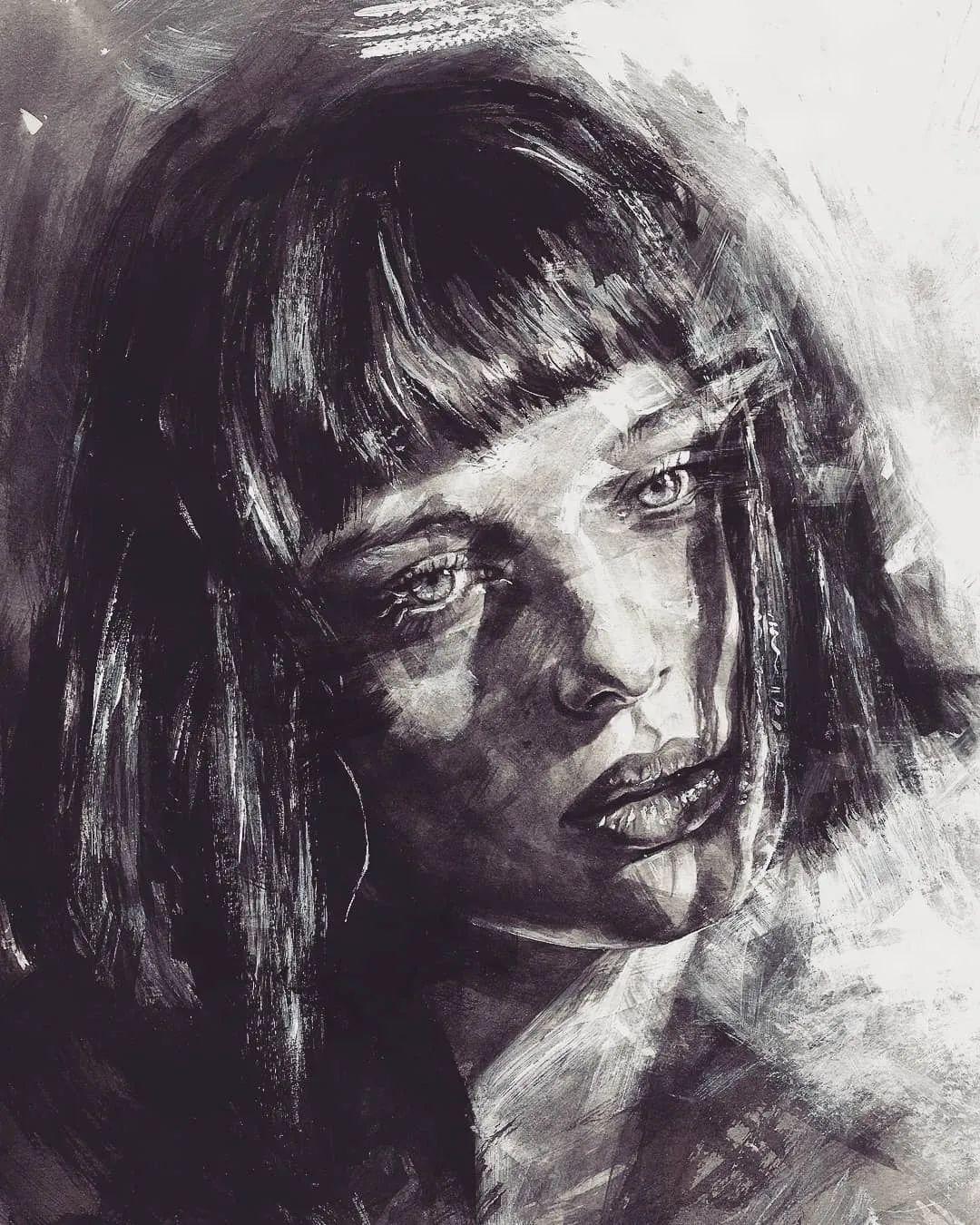 """""""灵魂绘画"""",西班牙画家阿丹·洛佩斯·阿莱曼插图29"""