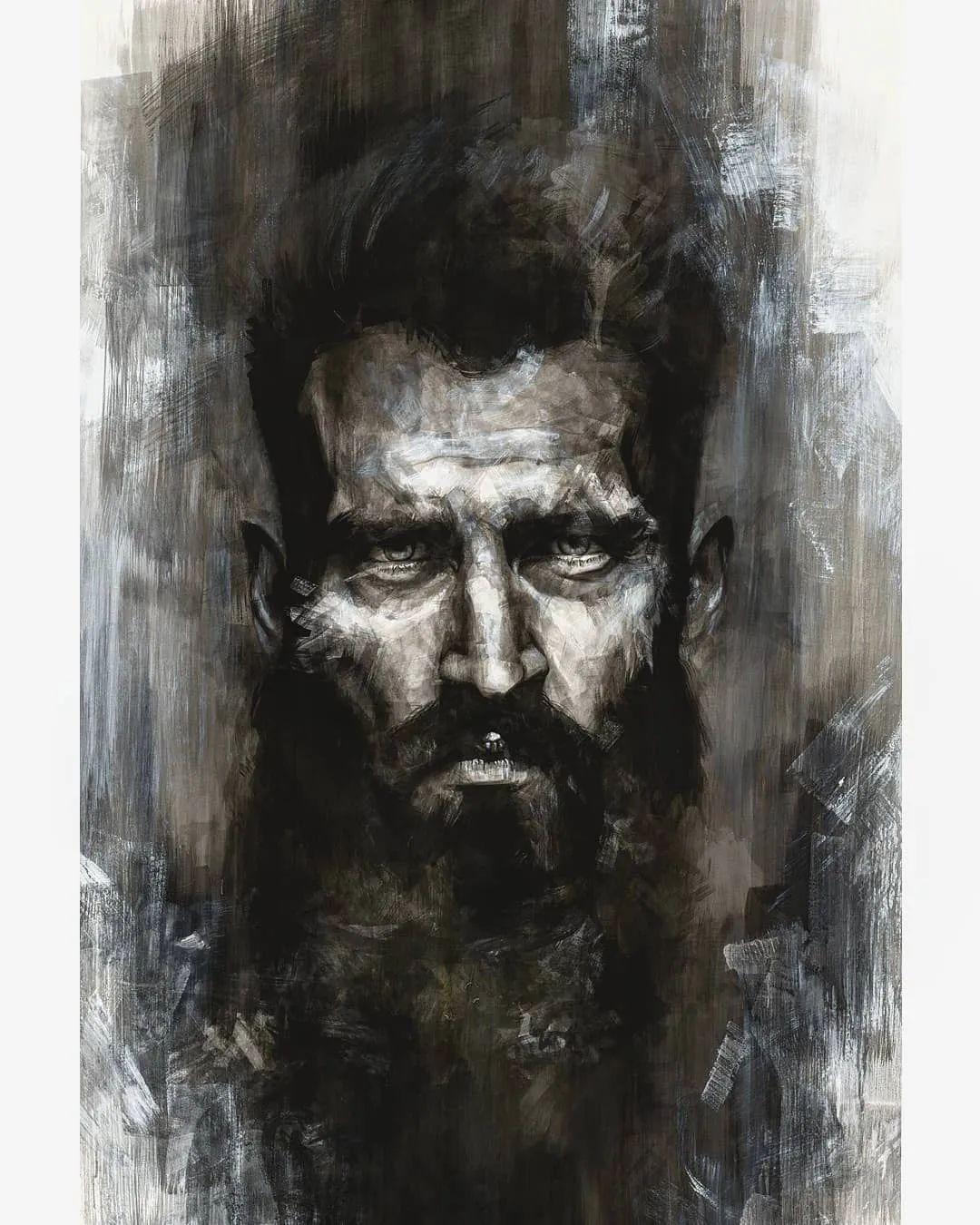 """""""灵魂绘画"""",西班牙画家阿丹·洛佩斯·阿莱曼插图31"""