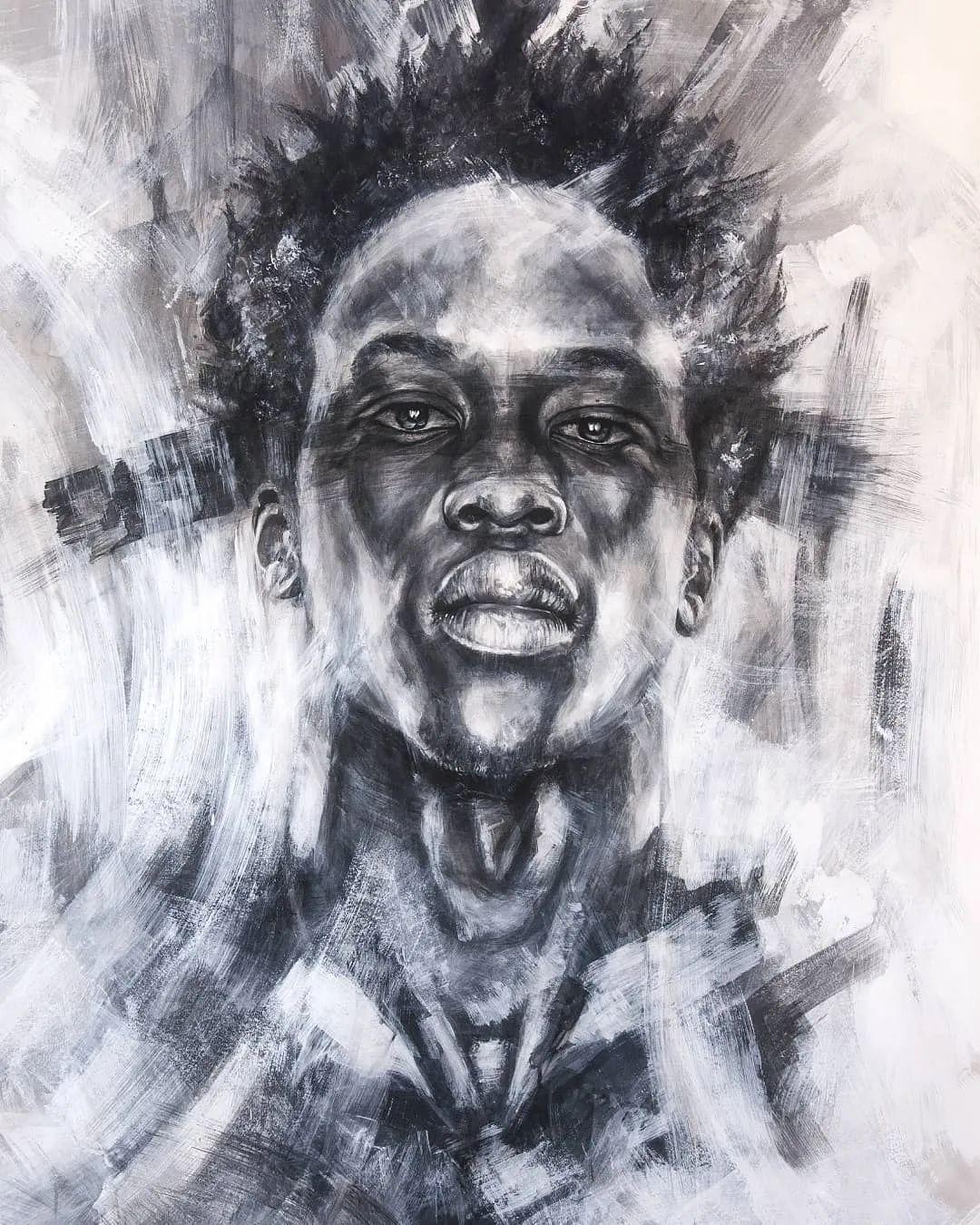 """""""灵魂绘画"""",西班牙画家阿丹·洛佩斯·阿莱曼插图41"""