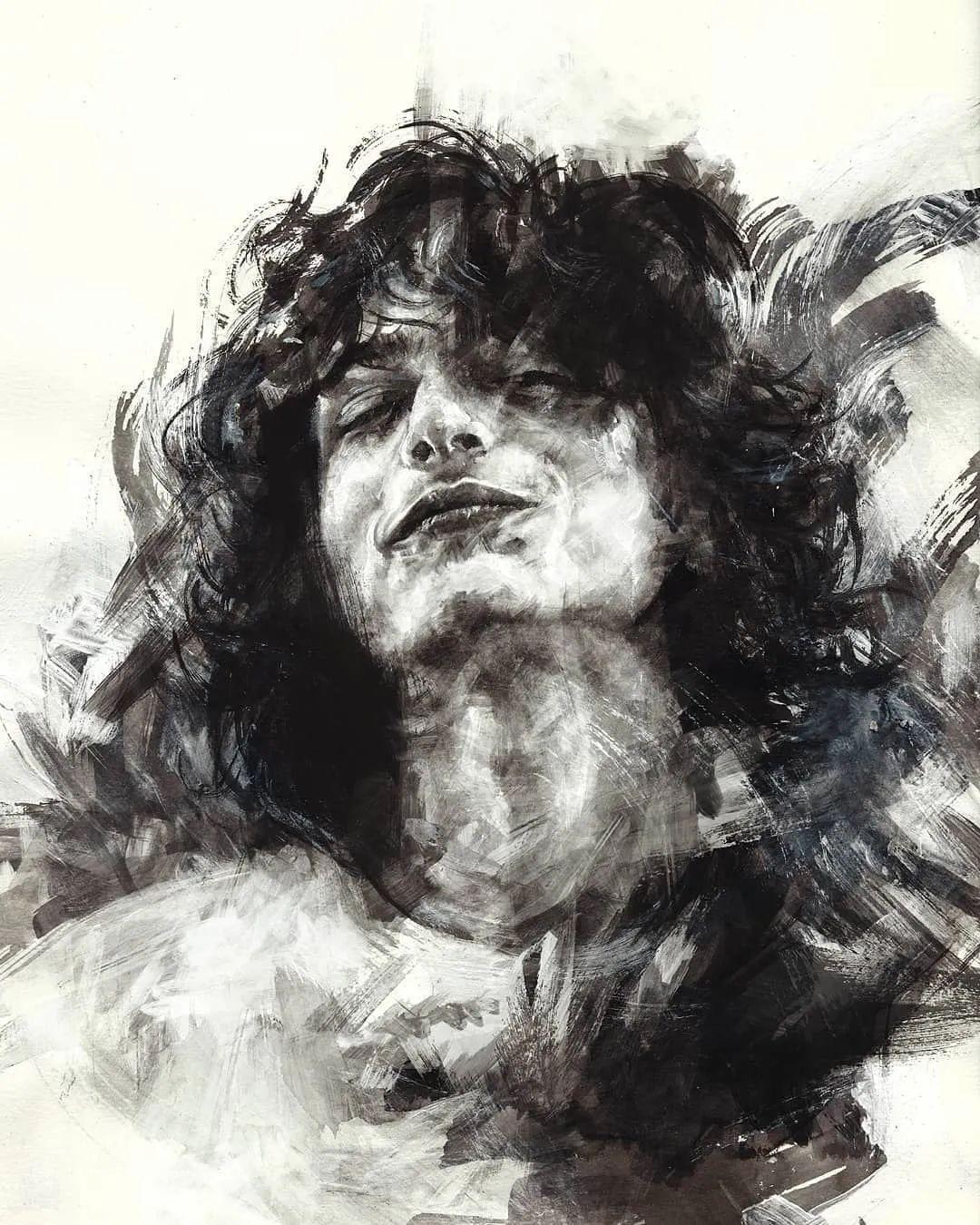 """""""灵魂绘画"""",西班牙画家阿丹·洛佩斯·阿莱曼插图45"""