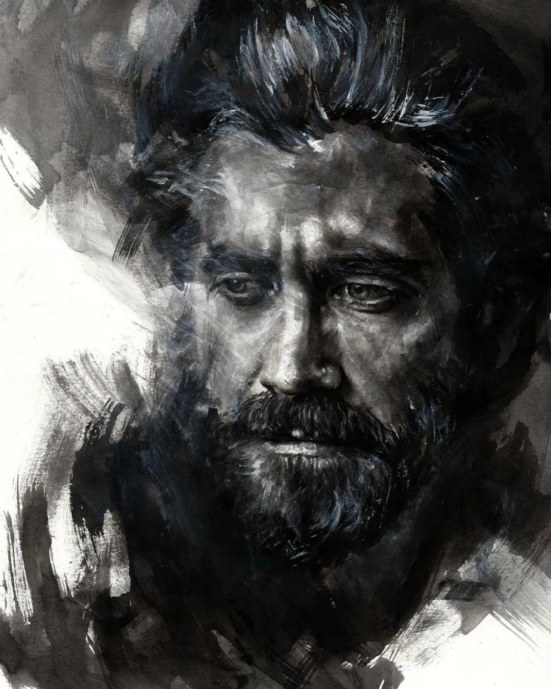 """""""灵魂绘画"""",西班牙画家阿丹·洛佩斯·阿莱曼插图47"""