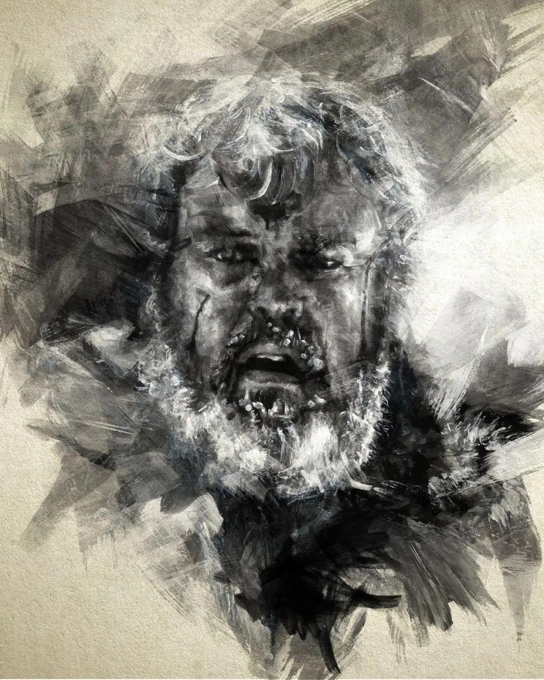 """""""灵魂绘画"""",西班牙画家阿丹·洛佩斯·阿莱曼插图57"""