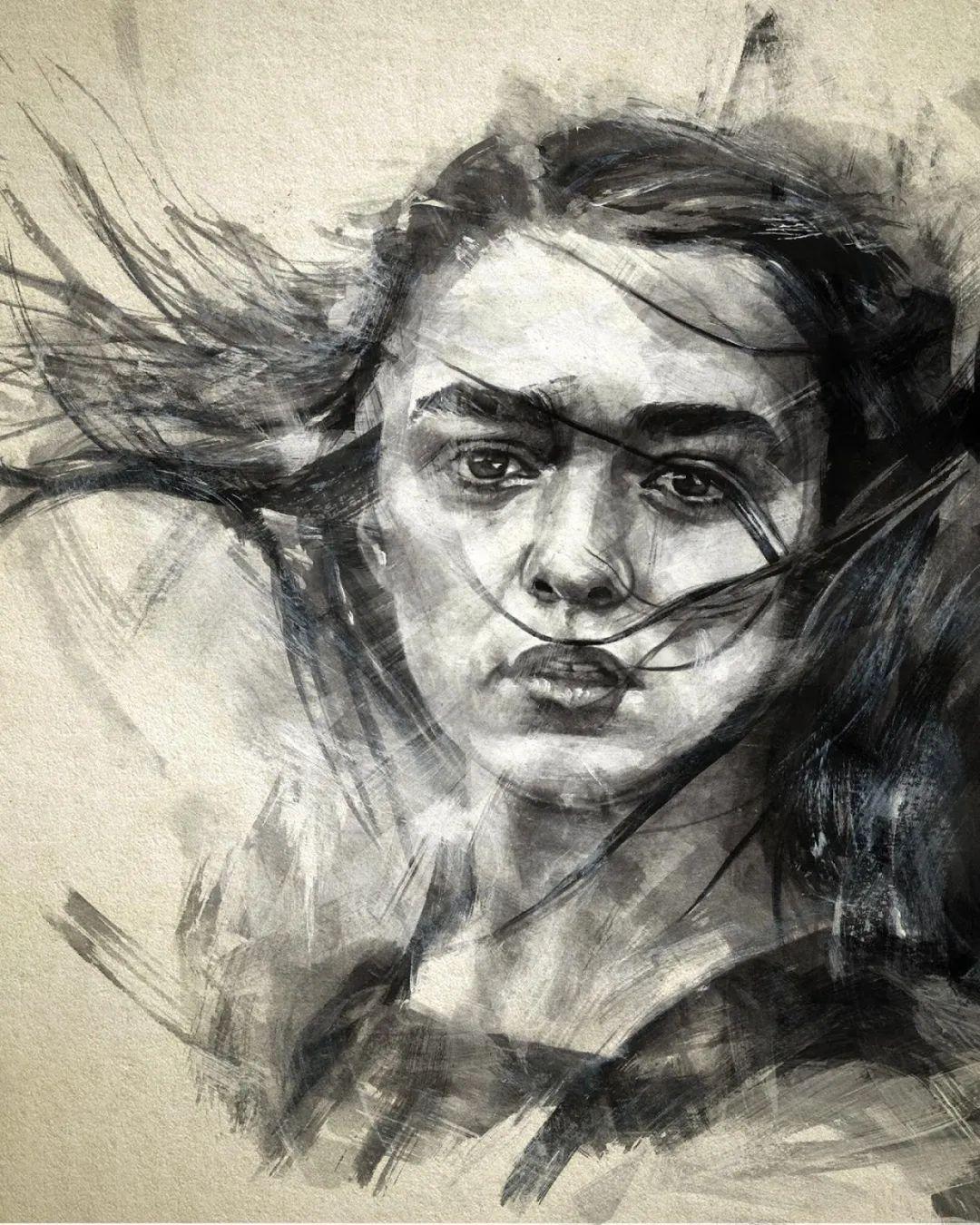 """""""灵魂绘画"""",西班牙画家阿丹·洛佩斯·阿莱曼插图59"""