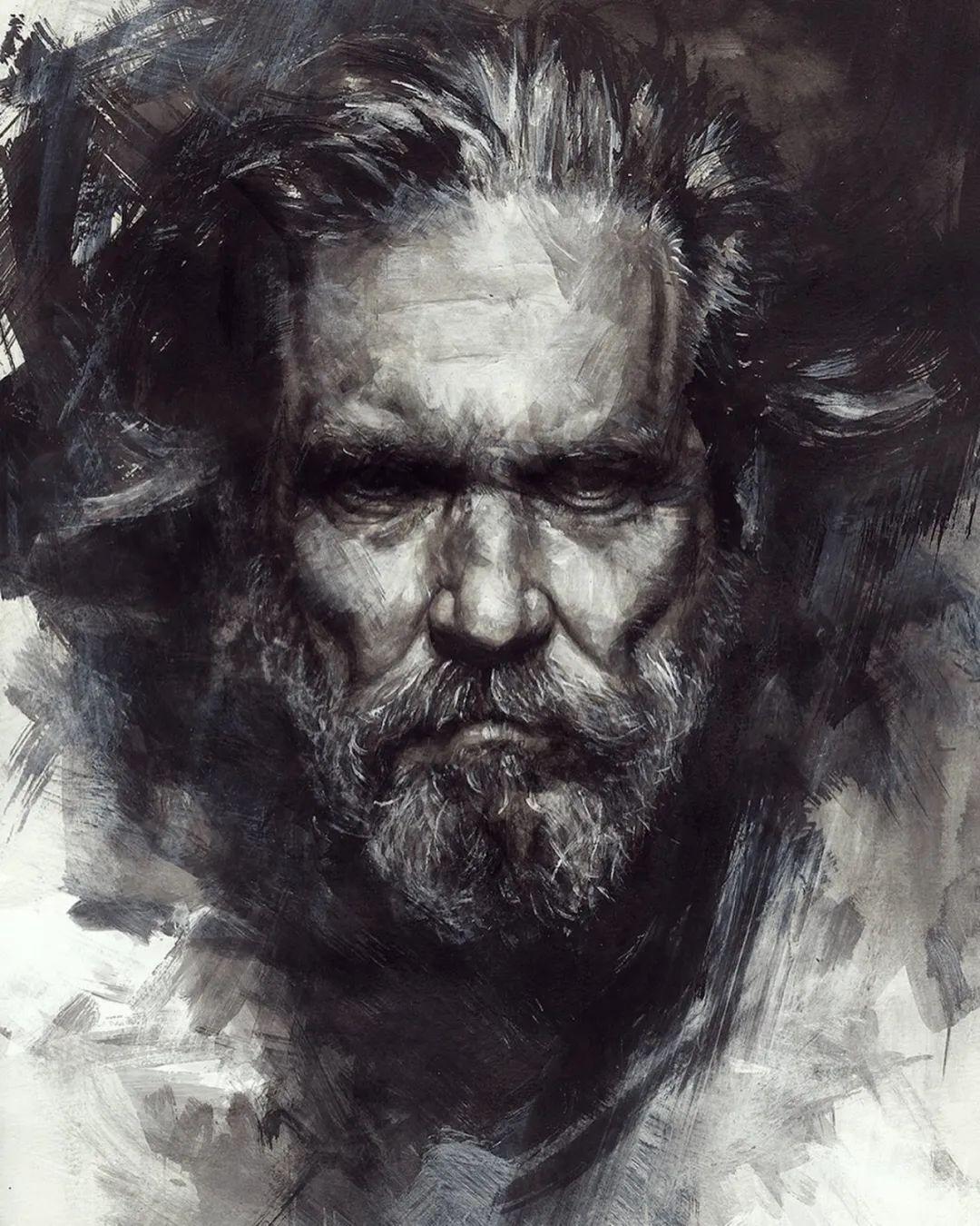 """""""灵魂绘画"""",西班牙画家阿丹·洛佩斯·阿莱曼插图61"""