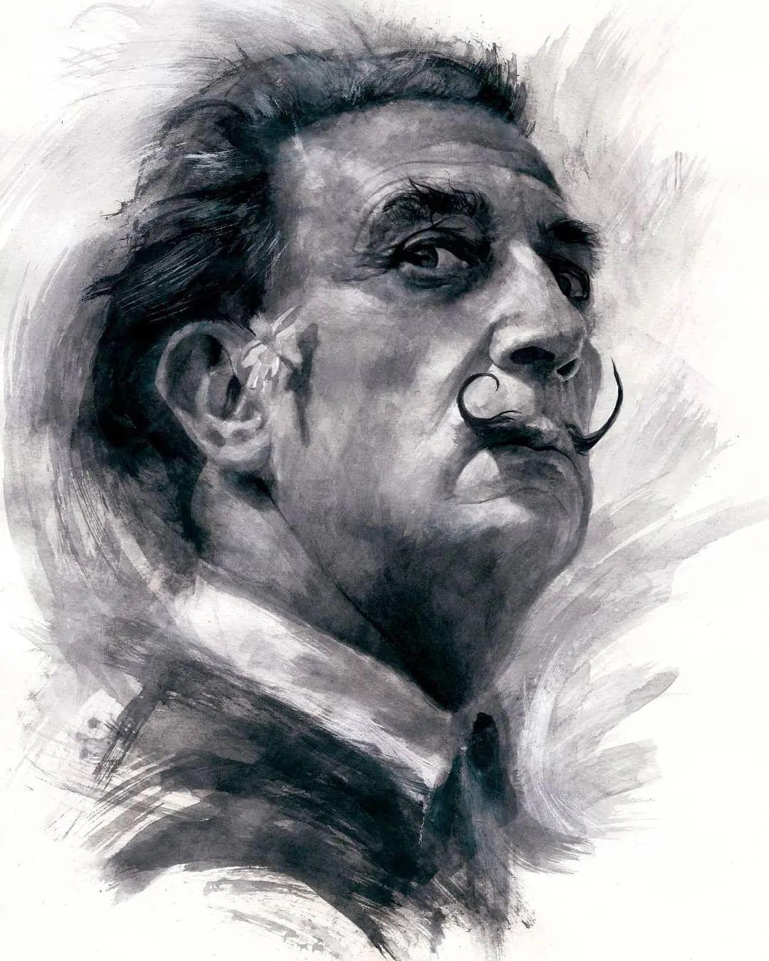 """""""灵魂绘画"""",西班牙画家阿丹·洛佩斯·阿莱曼插图75"""