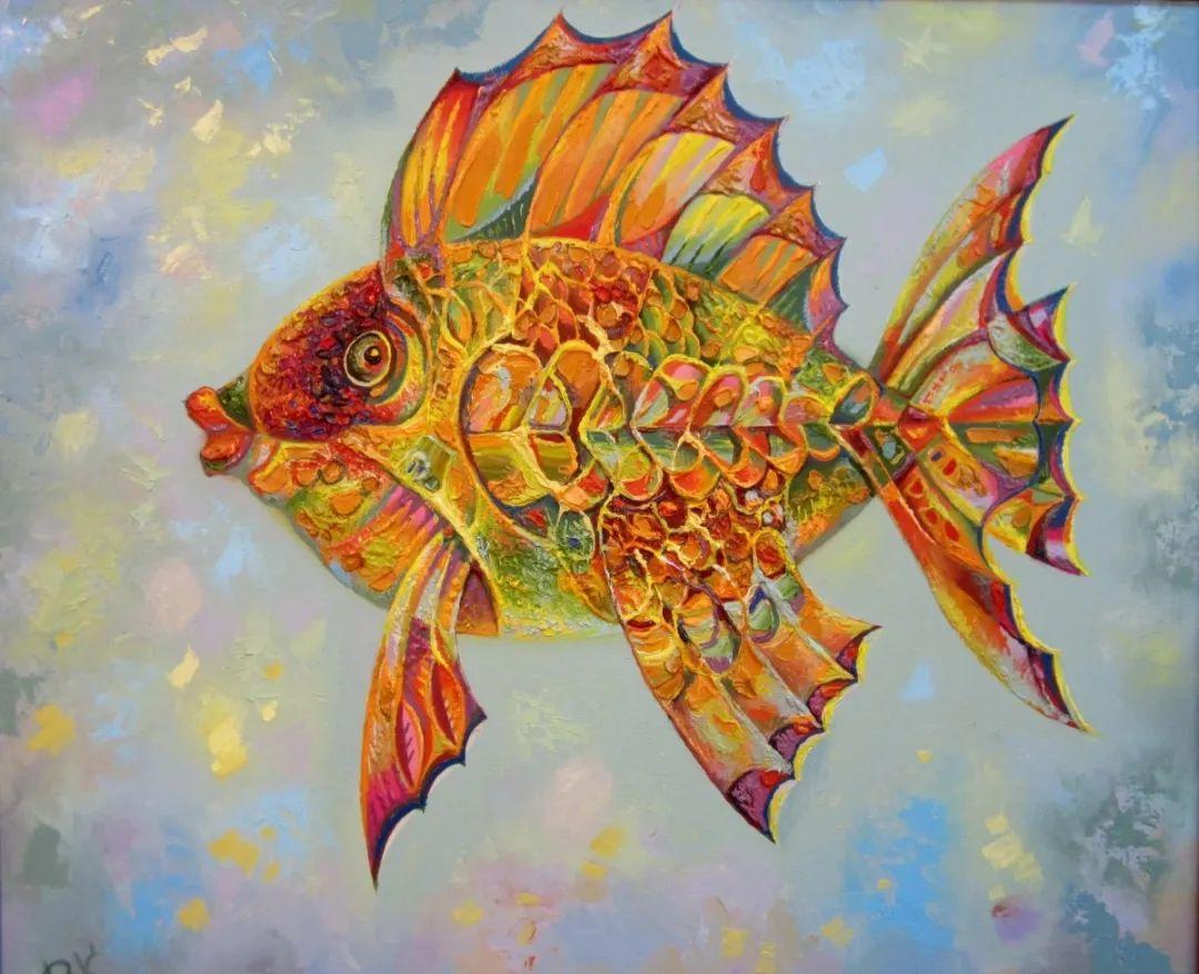 啤酒小龙虾,这画家的绘画风格,太让人喜欢了!插图3