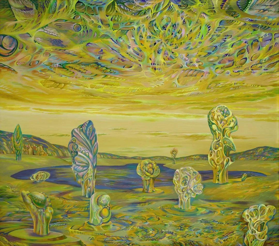 啤酒小龙虾,这画家的绘画风格,太让人喜欢了!插图22