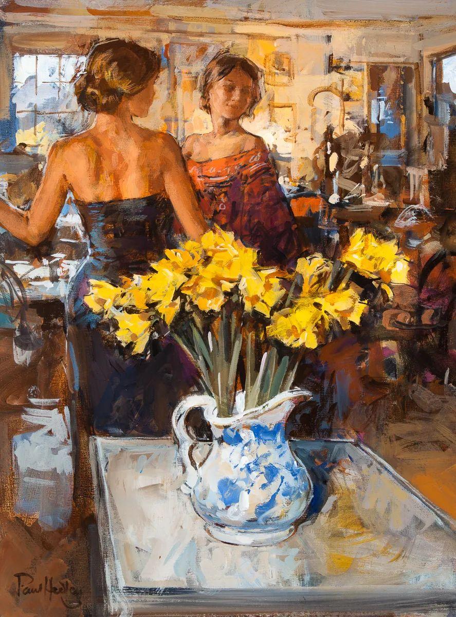 自然光与美人,英国画家保罗·赫德利插图21