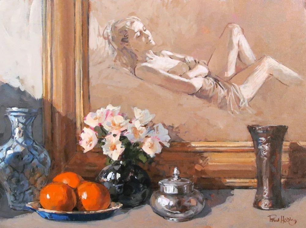 自然光与美人,英国画家保罗·赫德利插图92