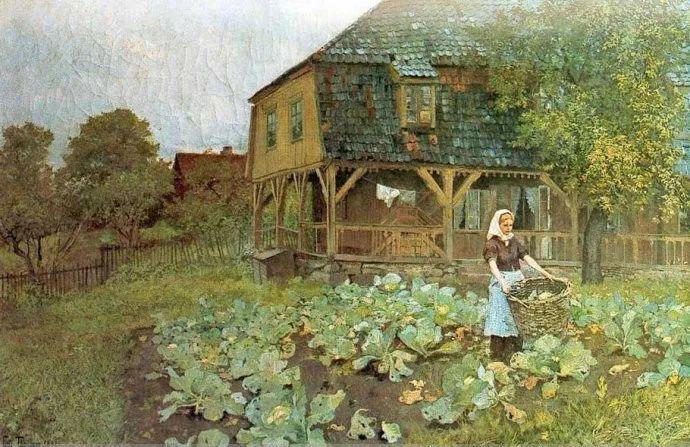 挪威画家Fredrik Thaulow风景画选插图18