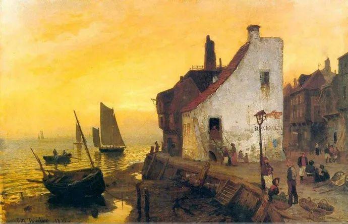 挪威画家Fredrik Thaulow风景画选插图25