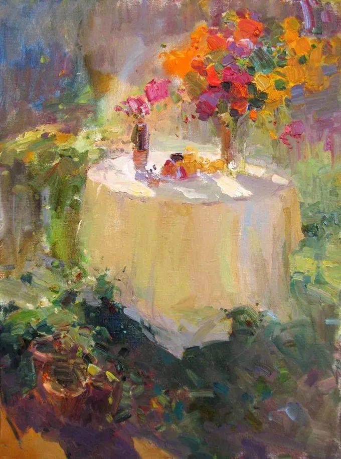 颜色与光:俄罗斯画家Vitaly Makarov作品选 插图3