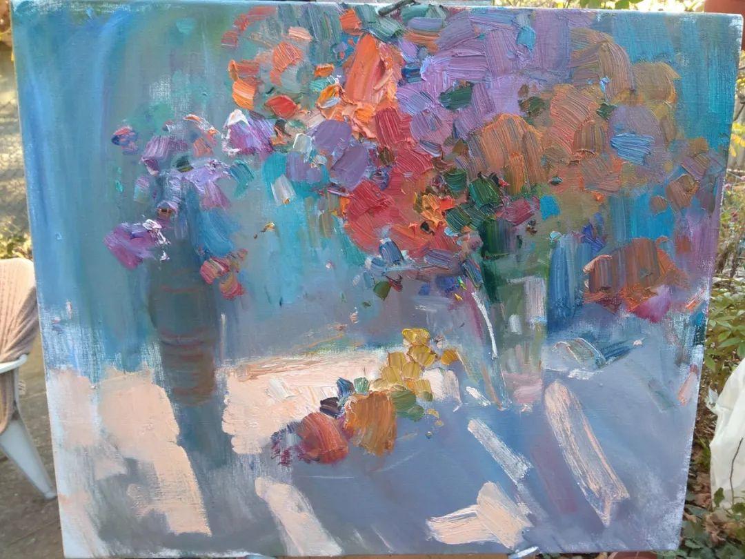 颜色与光:俄罗斯画家Vitaly Makarov作品选 插图21