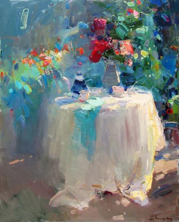 颜色与光:俄罗斯画家Vitaly Makarov作品选 插图23