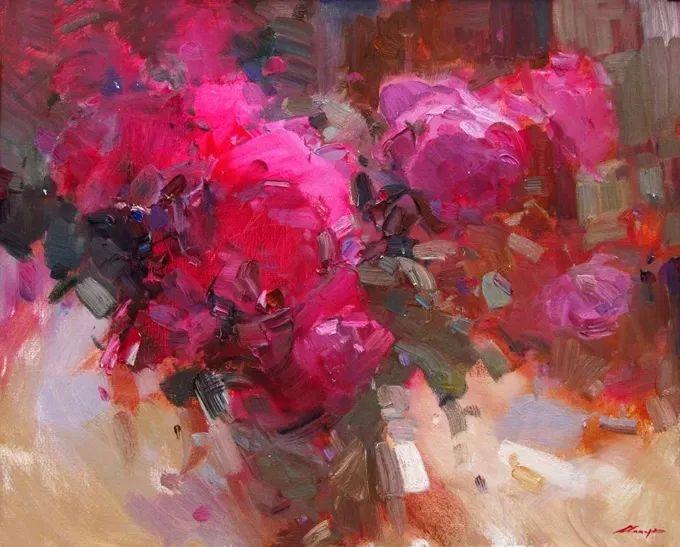 颜色与光:俄罗斯画家Vitaly Makarov作品选 插图31