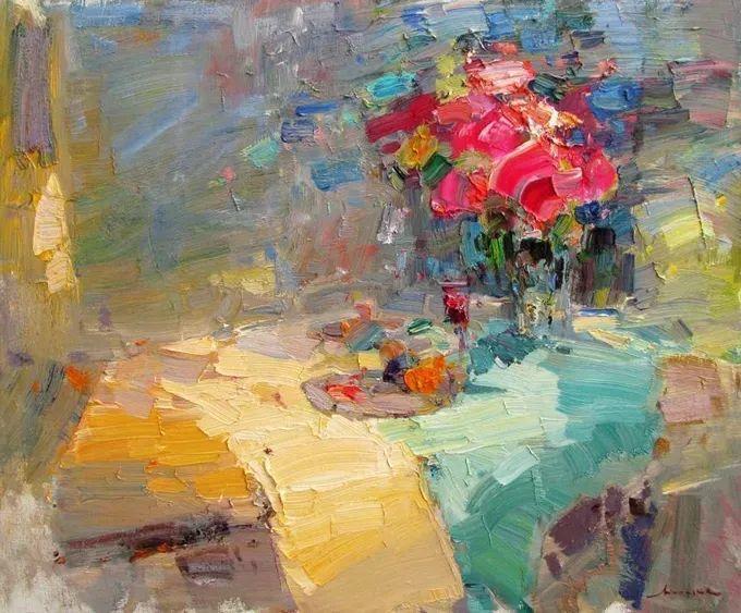 颜色与光:俄罗斯画家Vitaly Makarov作品选 插图33