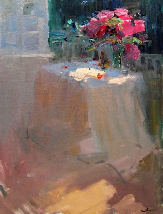 颜色与光:俄罗斯画家Vitaly Makarov作品选 插图36