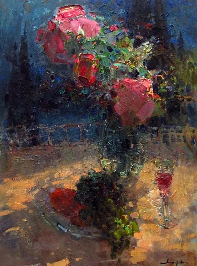 颜色与光:俄罗斯画家Vitaly Makarov作品选 插图42