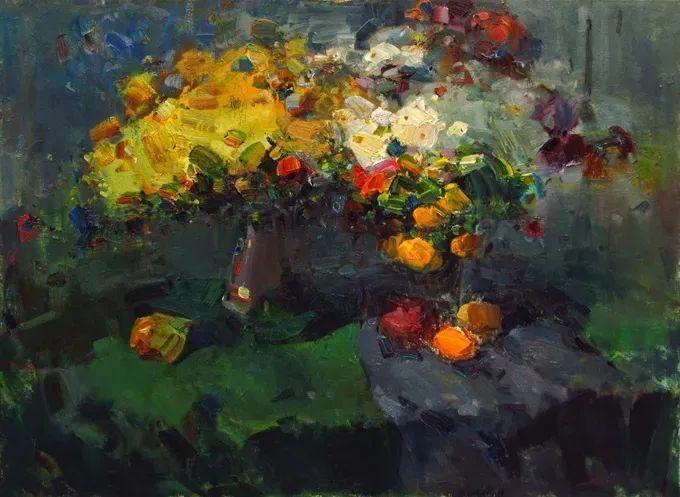 颜色与光:俄罗斯画家Vitaly Makarov作品选 插图46