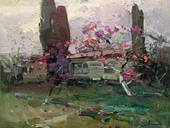 颜色与光:俄罗斯画家Vitaly Makarov作品选 插图54