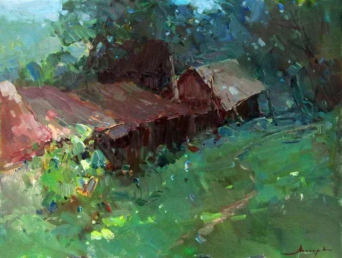 颜色与光:俄罗斯画家Vitaly Makarov作品选 插图56