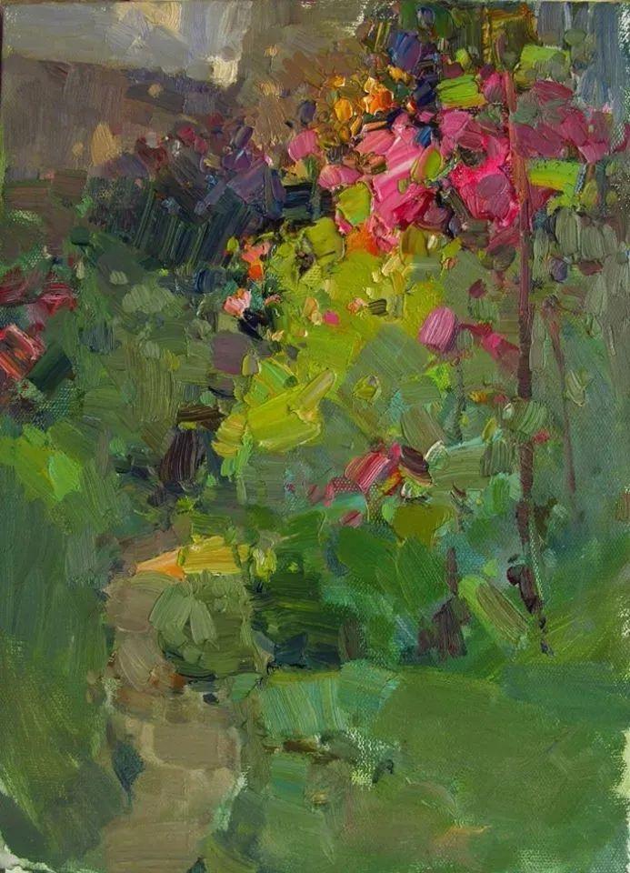 颜色与光:俄罗斯画家Vitaly Makarov作品选 插图58