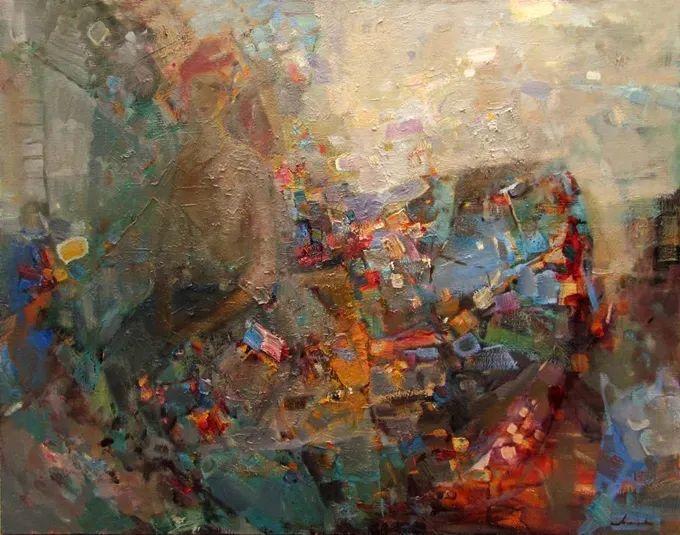 颜色与光:俄罗斯画家Vitaly Makarov作品选 插图60