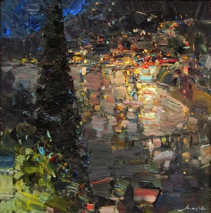 颜色与光:俄罗斯画家Vitaly Makarov作品选 插图87