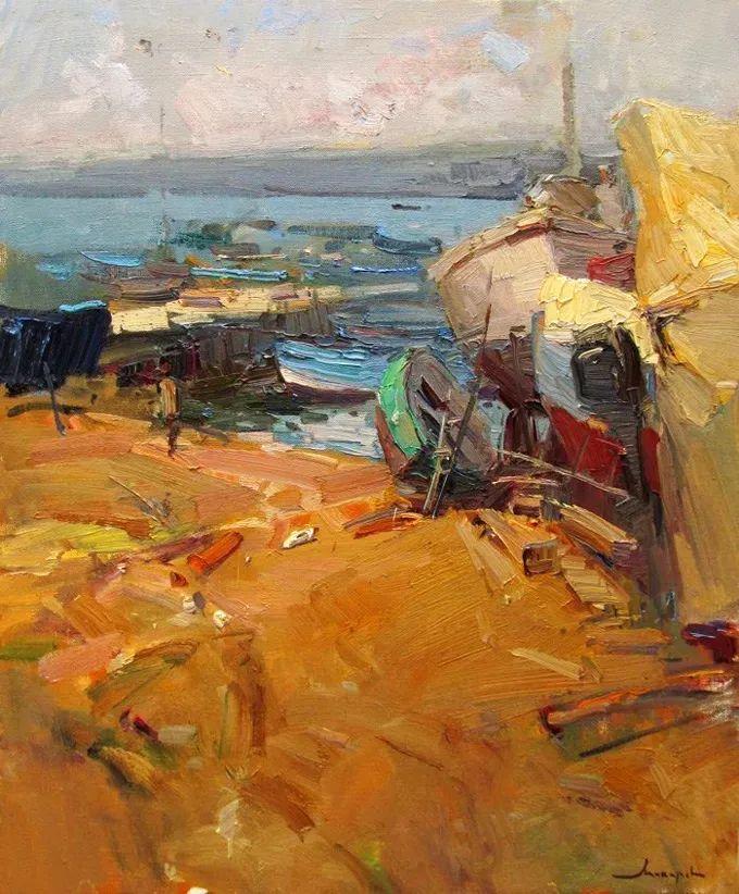 颜色与光:俄罗斯画家Vitaly Makarov作品选 插图89