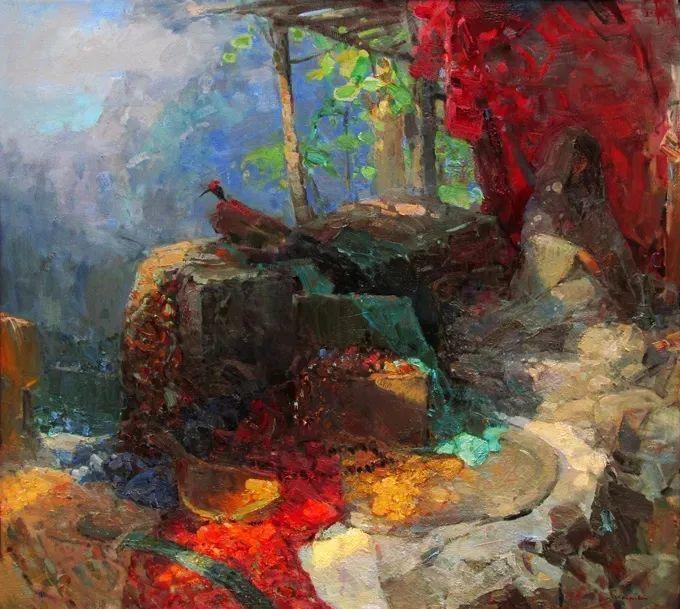 颜色与光:俄罗斯画家Vitaly Makarov作品选 插图93