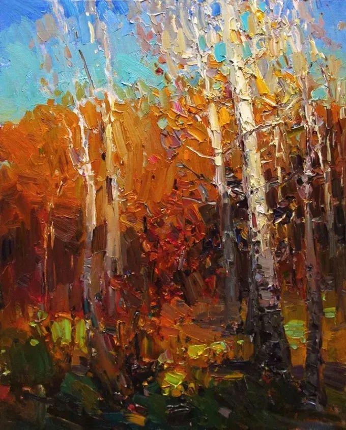 颜色与光:俄罗斯画家Vitaly Makarov作品选 插图106