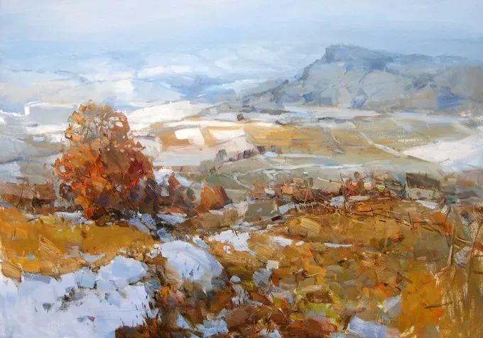 颜色与光:俄罗斯画家Vitaly Makarov作品选 插图110