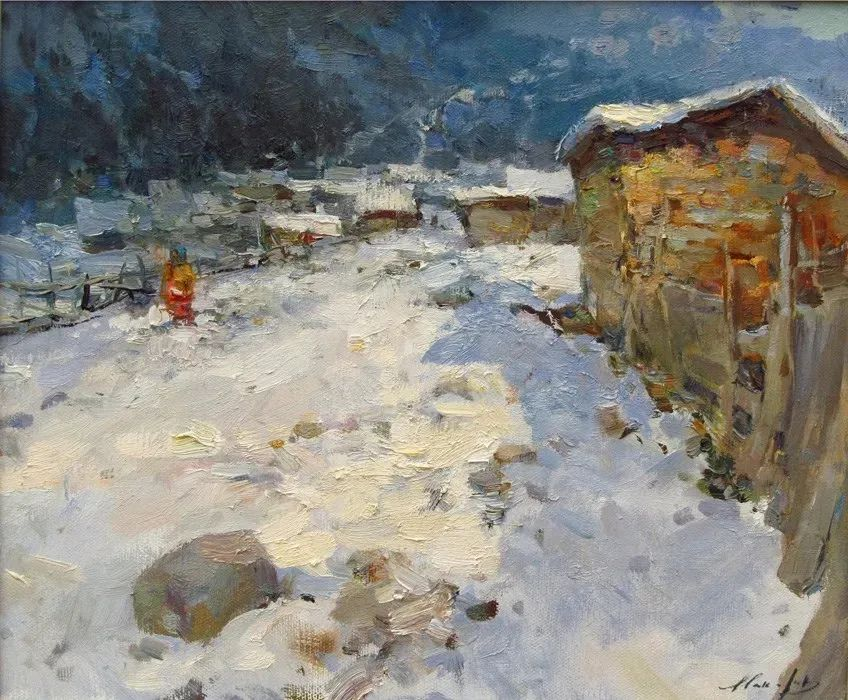 颜色与光:俄罗斯画家Vitaly Makarov作品选 插图114