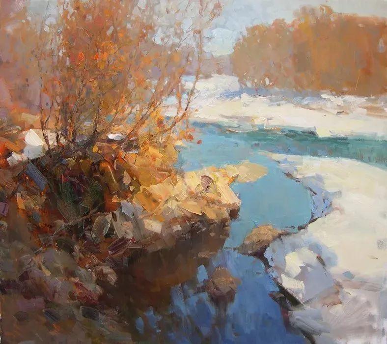 颜色与光:俄罗斯画家Vitaly Makarov作品选 插图116