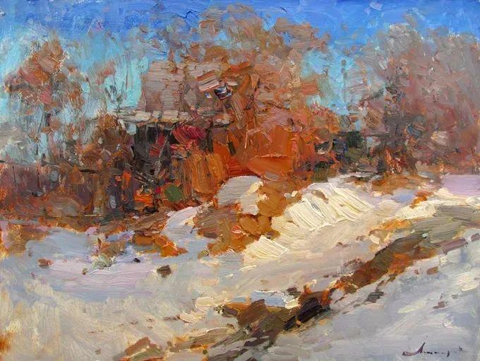 颜色与光:俄罗斯画家Vitaly Makarov作品选 插图118