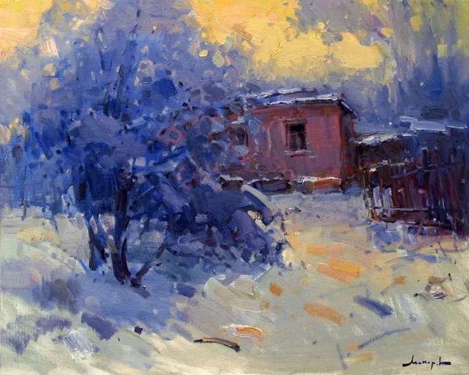 颜色与光:俄罗斯画家Vitaly Makarov作品选 插图120