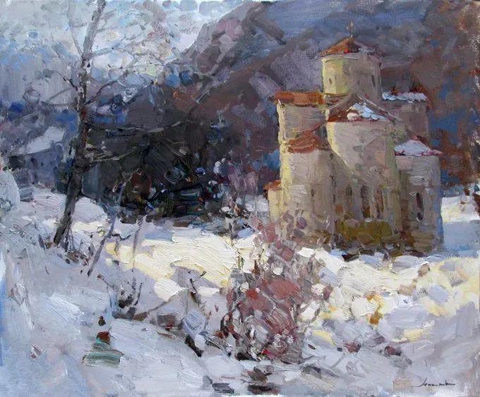 颜色与光:俄罗斯画家Vitaly Makarov作品选 插图123