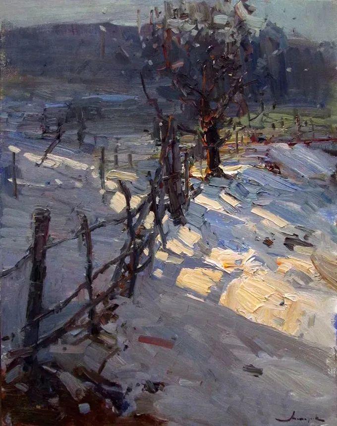 颜色与光:俄罗斯画家Vitaly Makarov作品选 插图127