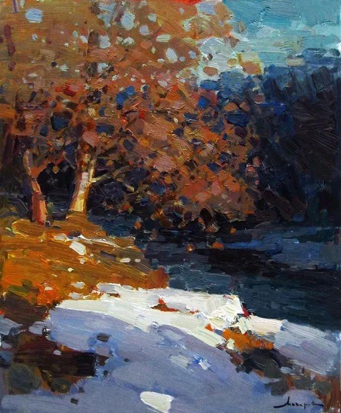 颜色与光:俄罗斯画家Vitaly Makarov作品选 插图129